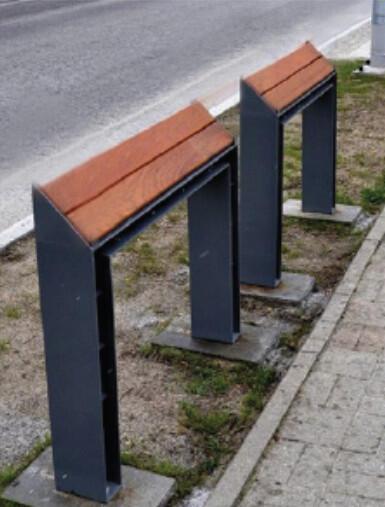 Podpórki pozwolą starszym osobom złapać oddech w miejscach, w których nie wystarczy przestrzeni na ławki