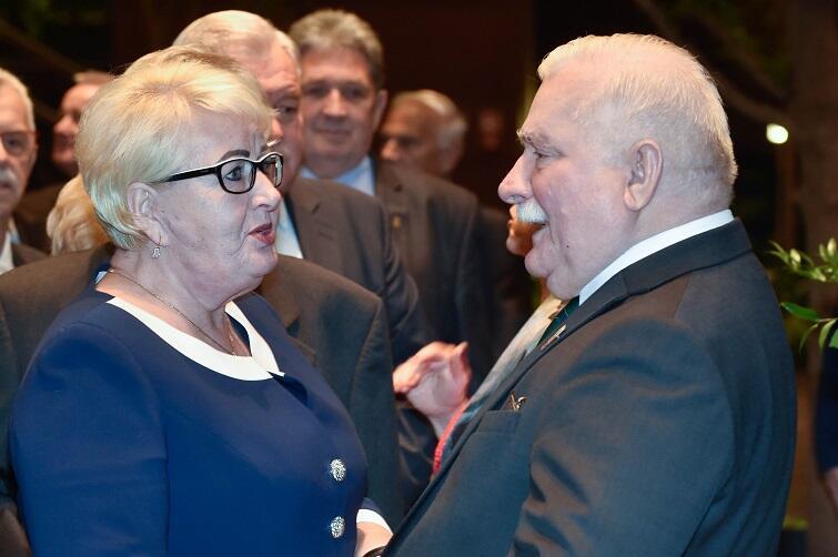 Henryka Krzywonos-Strycharska, słynna była tramwajarka, dziś poseł na Sejm z ramienia PO