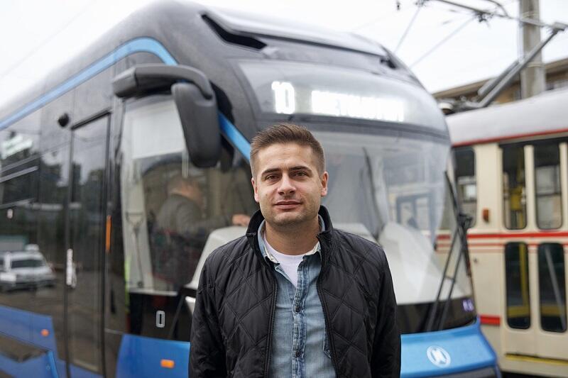 Maciej Kin z poznańskiego Modertransu