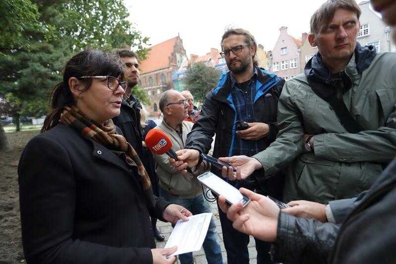 Ewelina Latoszewska z Gdańskiego Zarządu Dróg i Zieleni