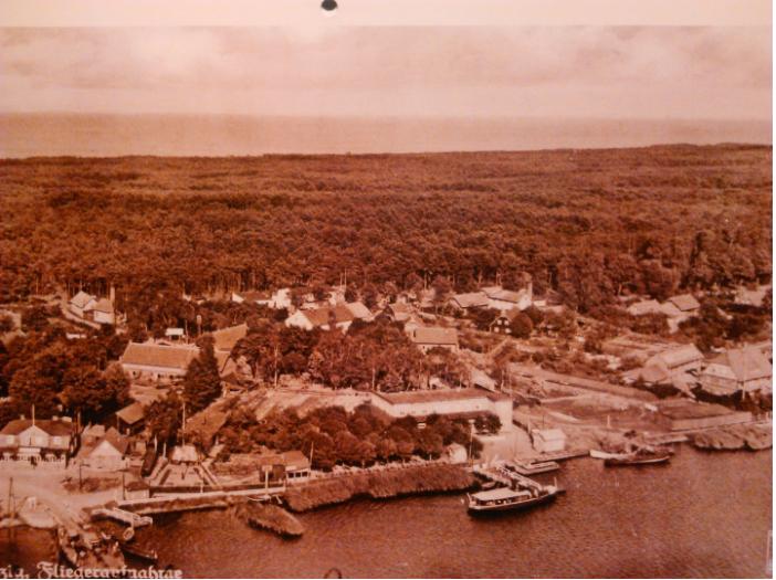 Tak zagospodarowane były nabrzeża w Sobieszewie przed ponad 100 laty