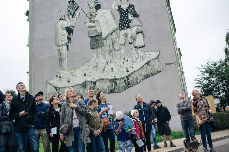 Zaspa. Na kolekcję murali składa się już 60 dzieł