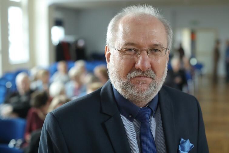 Dariusz Różycki, dyrektor Gdańskiej Akademii Seniora