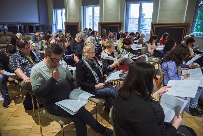 Podczas kolejnego spotkania III Panelu Obywatelskiego w Gdańsku paneliści wysłuchali też i zadawali pytania przedstawicielom klubów Rady Miasta Gdańska