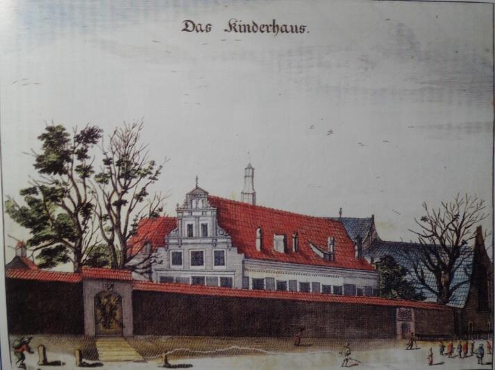 Gdański sierociniec na rycinie Willera (1687)