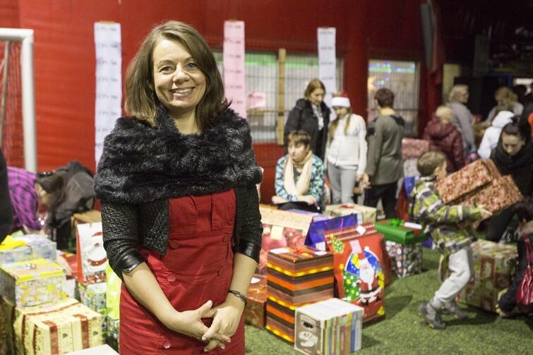 Magda Theus podczas 4. edycji akcji 'Każdy może pomóc'