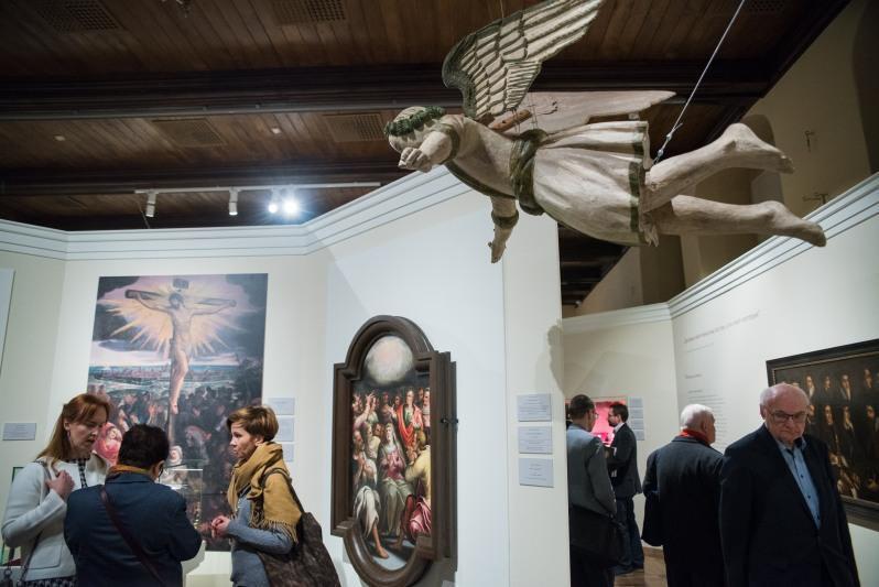 Wystawa Gdańsk protestancki w epoce nowożytnej. W 500-lecie wystąpienia Marcina Lutra przybliża zwiedzającym tematykę religijną dawnego Gdańska