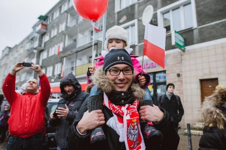 Parada Niepodległości w Gdańsku w 2016 roku