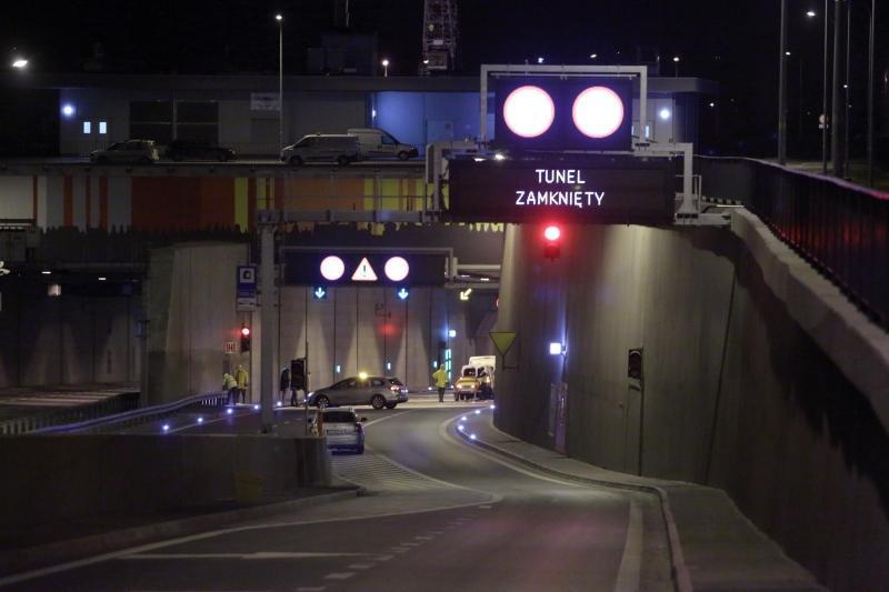 Tunel pod Martwą Wisłą w Gdańsku będzie zamknięty przez kilka godzin