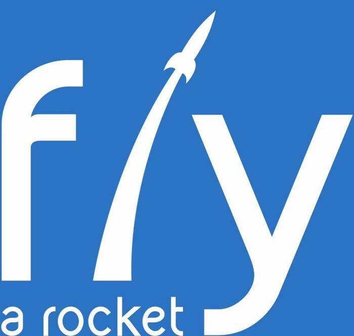 Logo – Logo Fly a rocket! zostało stworzone przez jednego z uczestników projektu i jest dostępne do upubliczniania przez wszystkich uczestników projektu