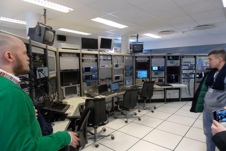 Aparatura stacji telemetrycznej, której używa się również w projektach naukowych przeprowadzanych w Andøya Space Center