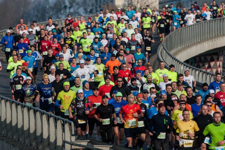 Na trasie AmberExpo Półmaraton Gdańsk 2017