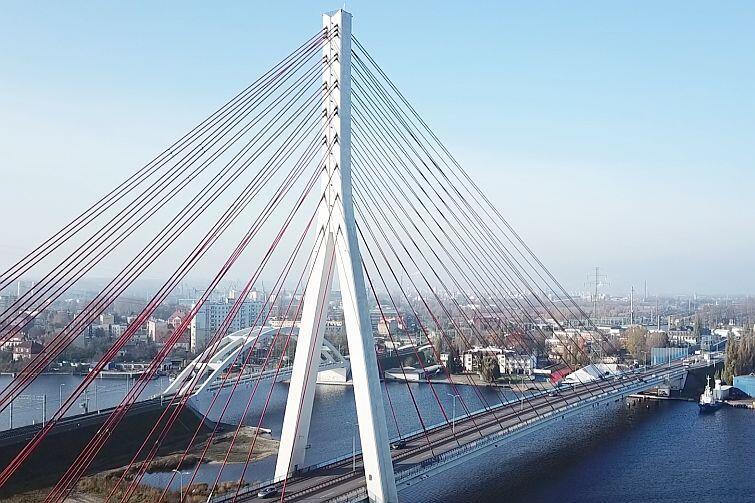 Most im. Jana Pawła II w Gdańsku