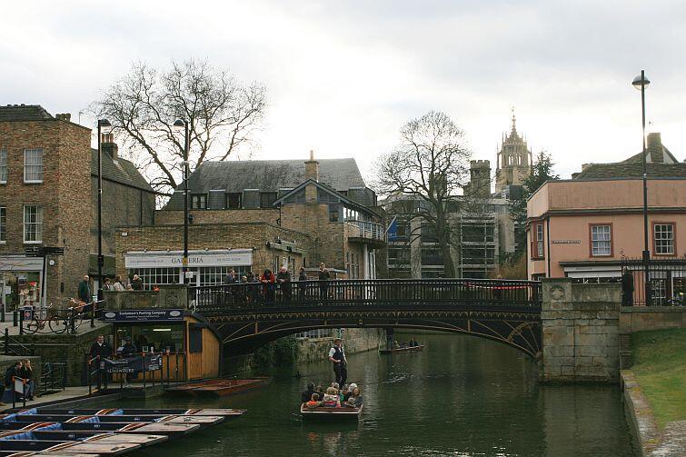 Rzeka Cam, widok z mostu King's