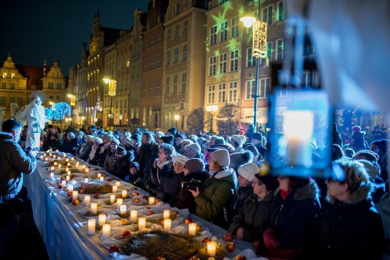 Wigilia Gdańszczan tradycyjnie gromadzi tłumy mieszkańców