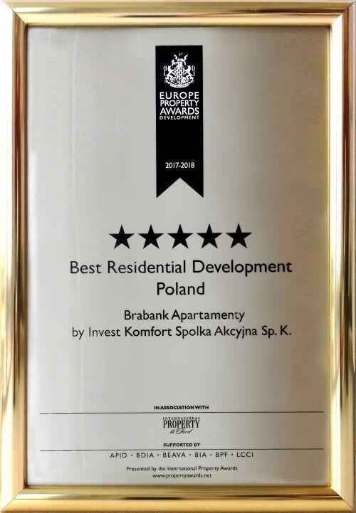 Nagroda w konkursie International Property Awards