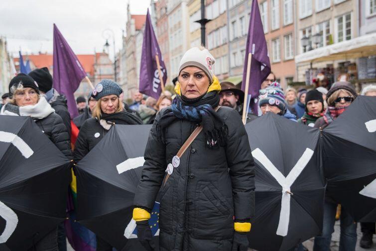 Jolanta Urbańska z Częstochowy stała się polską twarzą walki z ONR i innymi przejawami polskiego faszyzmu