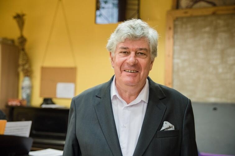 Jan Łukaszewski, współzałożyciel, dyrygent i opiekun chóru
