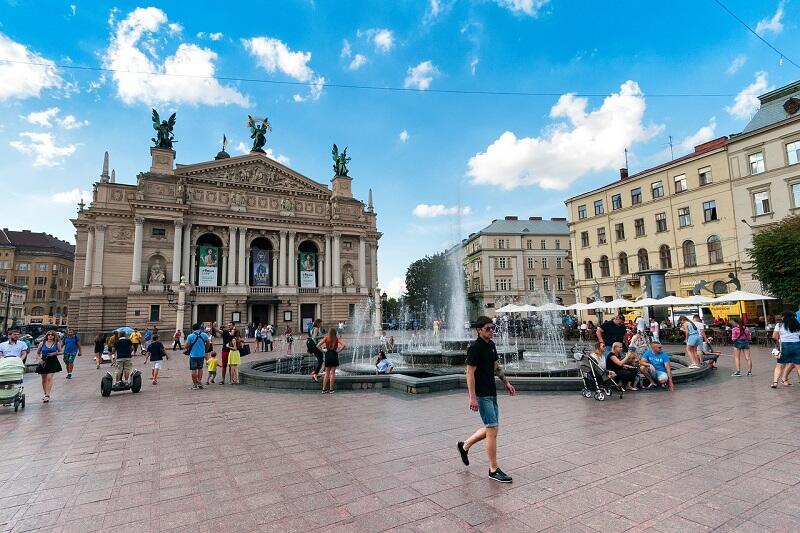 Kijów - od marca 2018 roku osiągalny z Portu Lotniczego Gdańsk