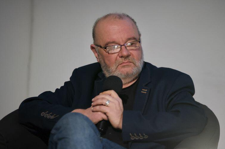 Spotkanie poprowadził pisarz Paweł Huelle