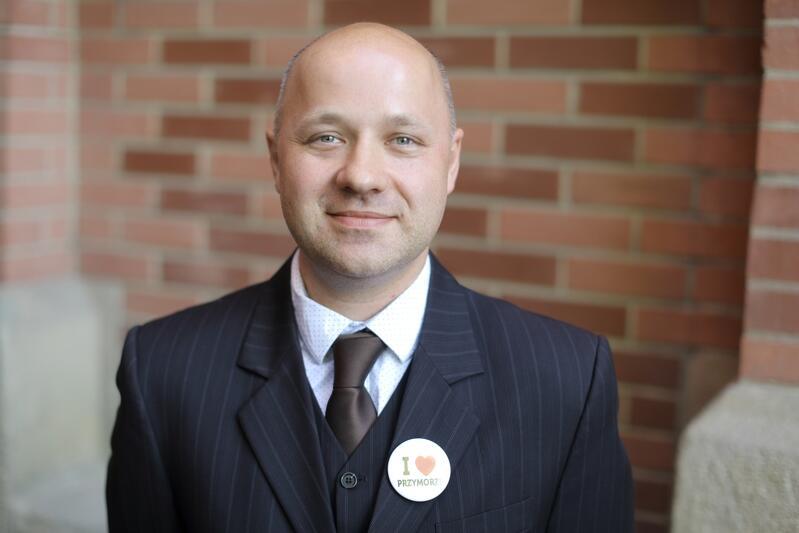 Krzysztof Skrzypski, przewodniczący zarządu Rady Dzielnicy Przymorze Wielkie: - Studenckie projekty inspirują