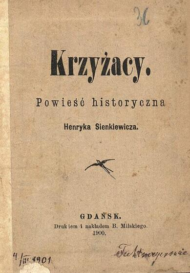 Strona tytułowa gdańskiego wydania