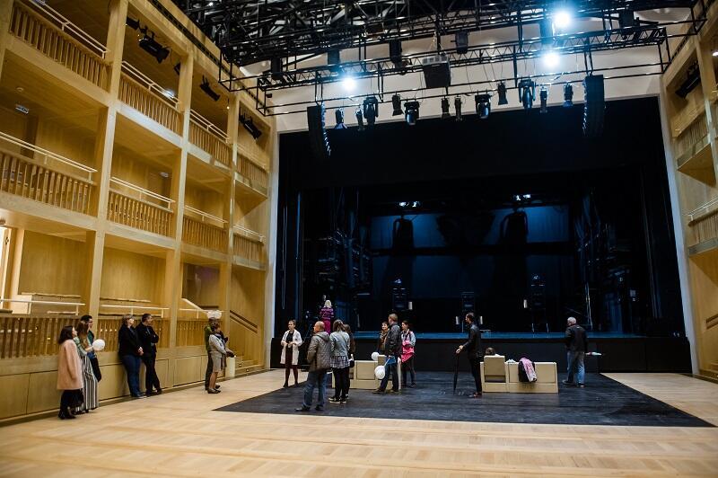 Teatr Szekspirowski można zwiedzać 23 grudnia. Potem jest zamknięty