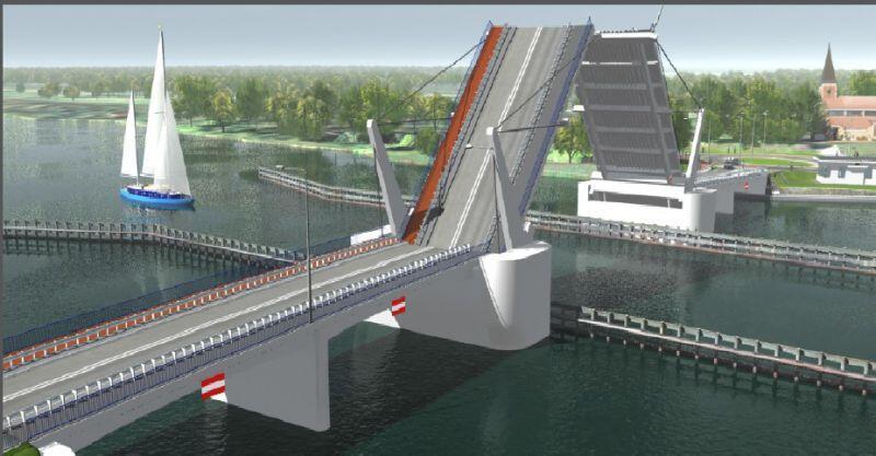 Budowa mostu na Wyspę Sobieszewską musiała zwolnić ze względu na kłopoty jednego z wykonawców. Obiekt powinien być jednak gotowy w połowie 2018 r.