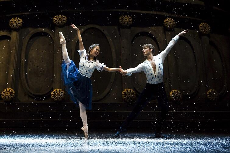 Min Kyung Lee i Michał Lewandowski - tancerze baletu OB