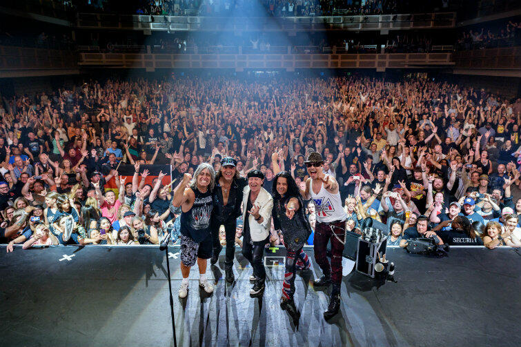 The Scorpions mają liczną rzeszę wiernych fanów na całym świecie