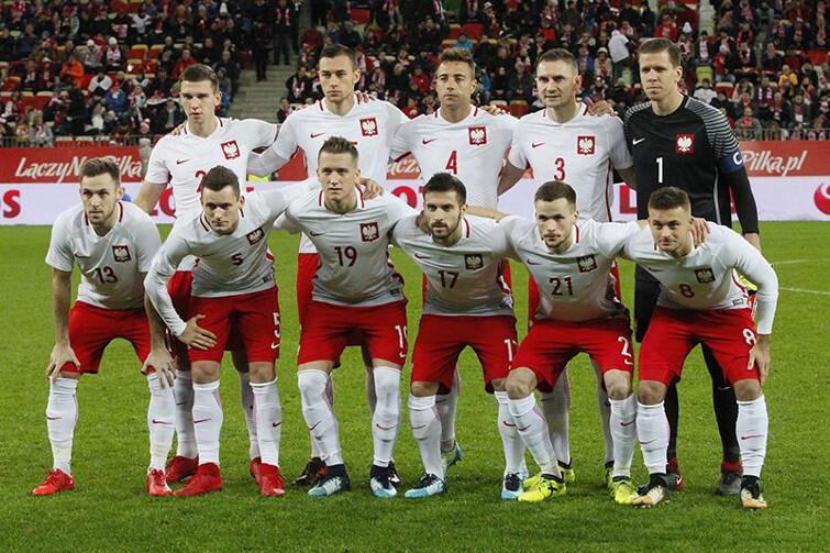 13 listopada 2017 roku, reprezentacja Polski w Gdańsku przed meczem z Meksykiem