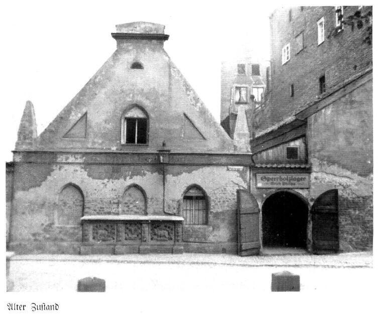 Ławy mięsne w Gdańsku przed 1945 rokiem