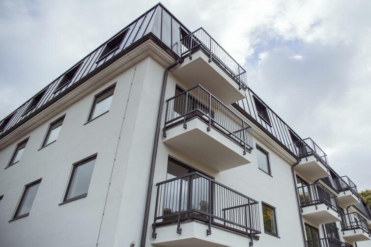 W ekologicznym domu przy ul. Dolne Młyny znajduje się 25 mieszkań