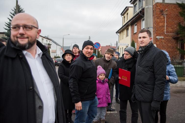 W poniedziałek, 8 stycznia, odbył się spacer gospodarski po Siedlcach i Wzgórzu Mickiewicza. Uczestniczył w nim m.in. zastępca prezydenta Gdańska Piotr Grzelak