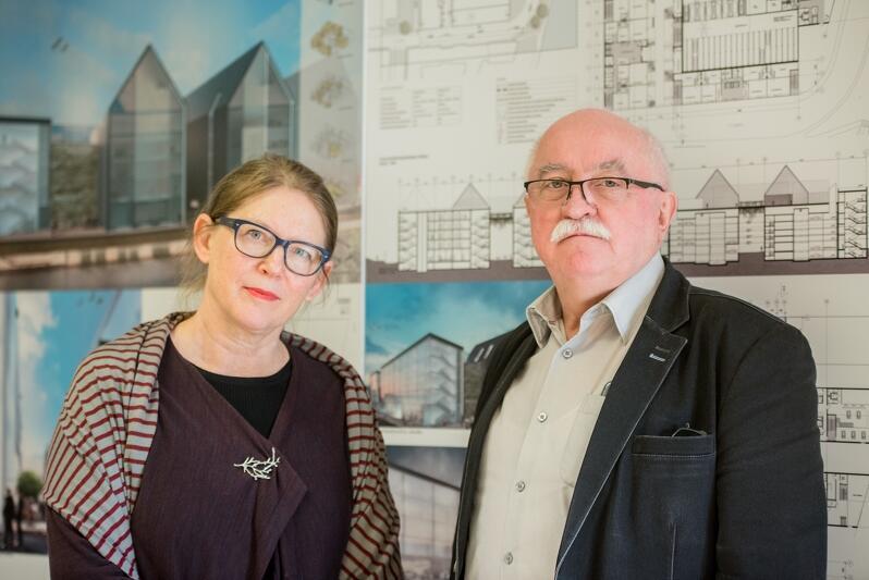 Joanna Sidorczak- Heinsohn i Andrzej Duch