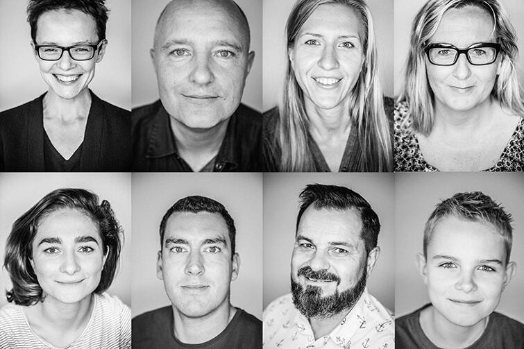 'Portret Polaka' to zbiór fotografii mieszkańców polskich miast. Efekt pracy autorki można zobaczyć na profilu FB wydarzenia