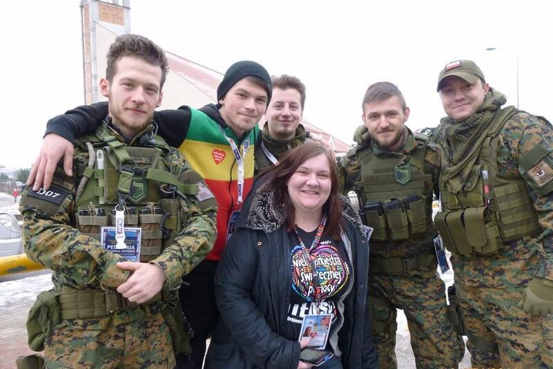 Osowski sztab WOŚP ma w swoim gronie wolontariuszy - fascynatów amerykańskiej armii