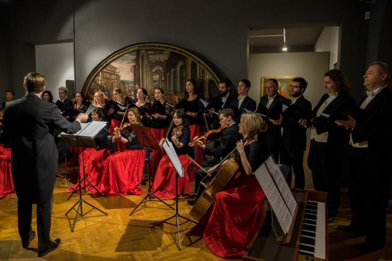Podczas spotkania noworocznego rodzin repatrianckich z prezydentem, w Muzeum Narodowym w Gdańsku wystąpiła Cappella Gedanensis