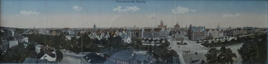 Panorama ze środka miasta