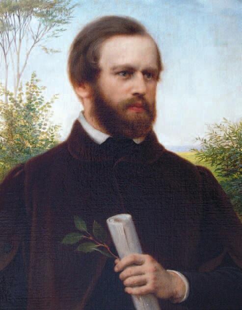 Robert Reinick, autoportret, 1830