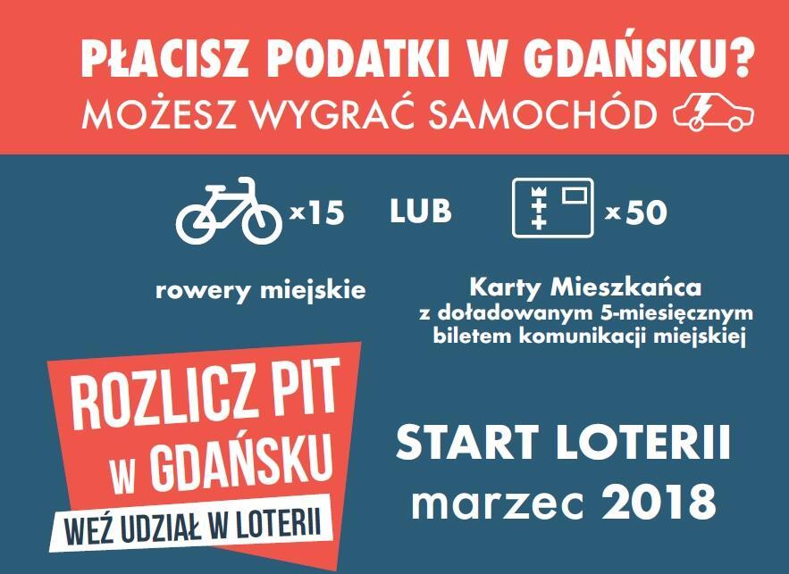 Płacisz podatki w Gdańsku? Możesz wygrać samochód