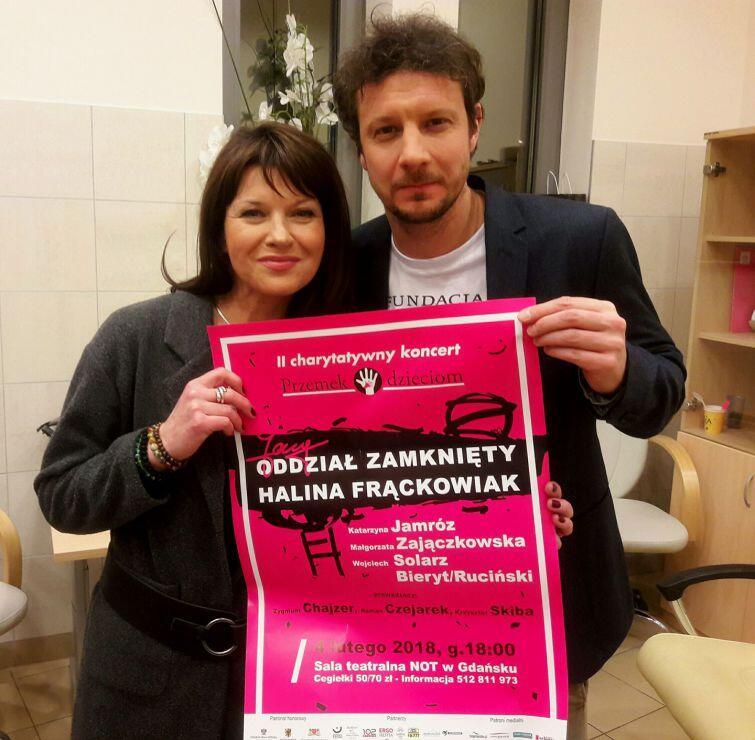 Katarzyna Jamróz i Wojciech Solarz zapraszają na II charytatywny koncert Przemek Dzieciom