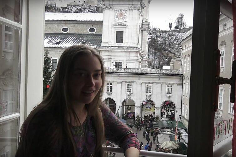 Zobacz wideo z jarmarku bożonarodzeniowego w Salzburgu