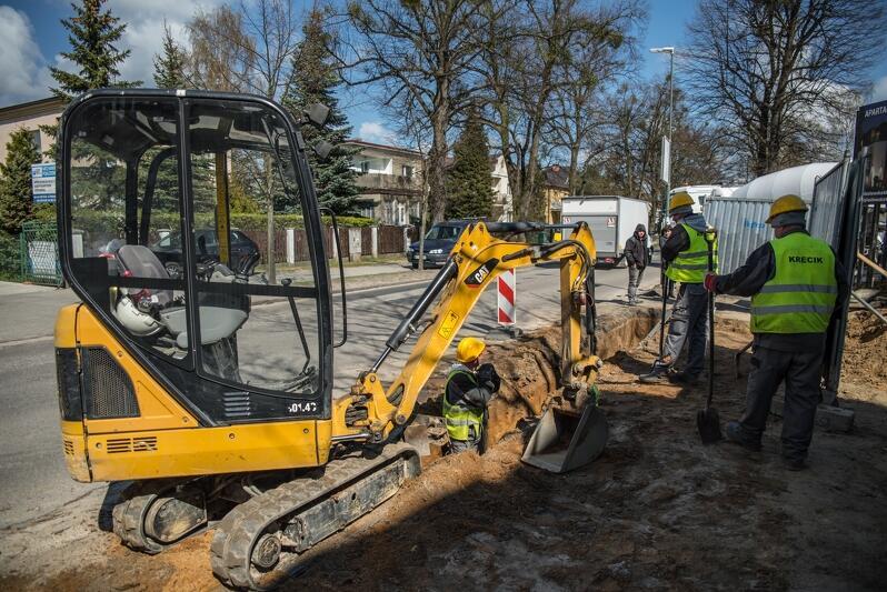 Przebudowa sieci wodociągowej w ulicy Piastowskiej