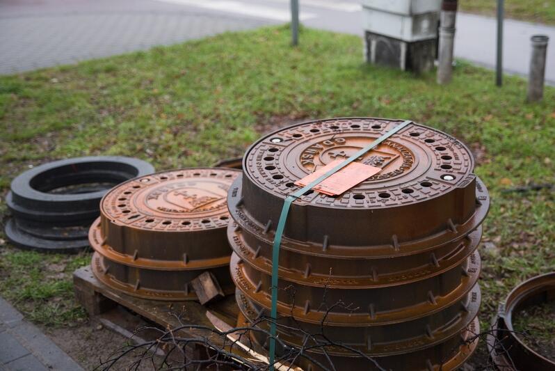 Niedawny remont przeszła też ulica Chłopska przy skrzyżowaniu z ulicą Pomorską