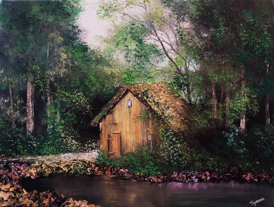 Piękny jest świat - udowadnia wystawa obrazów Tomasza Gromy