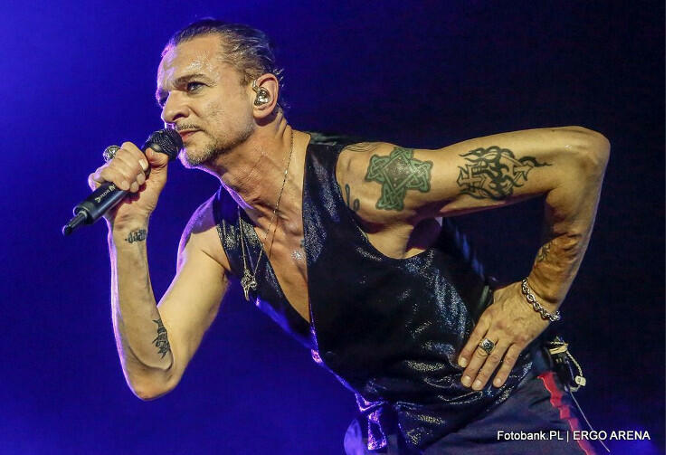 Dave Gahan - lider Depeche Mode w Gdańsku