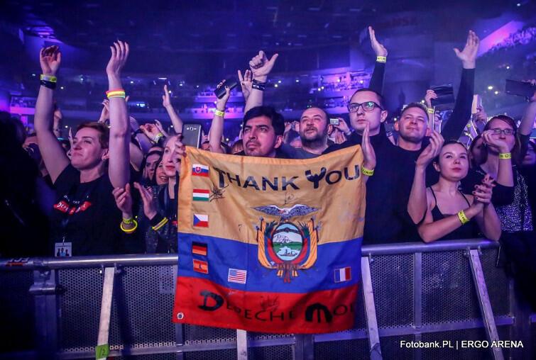 Na koncercie pojawił się nawet fan Depeche Mode z Ekwadoru