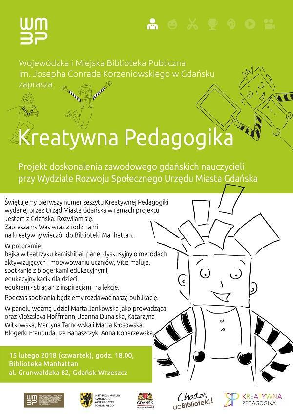 pierwszy numer zeszytu Kreatywnej Pedagogiki