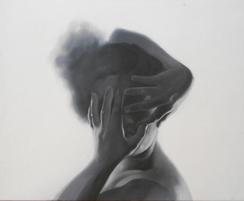 Obrazy Aleksandry Kotarskiej to zabawa z perspektywą i światłocieniem. Można je oglądać w Galerii Sztuki Żaka do końca lutego
